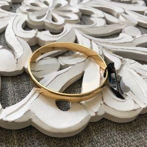 Monet Gold Tone Bangle Bracelet NEW